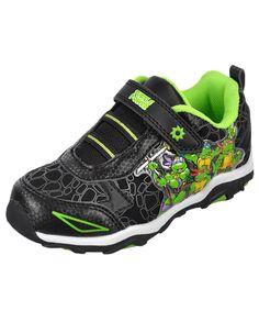 "Teenage Mutant Ninja Turtles Boys' ""Turtle Power"" Light-Up Sneakers (Toddler Sizes 7 – 12) $29.99  Give him Turtle Power with these Teenage Mutant Ninja Turtles light-up sneakers!"