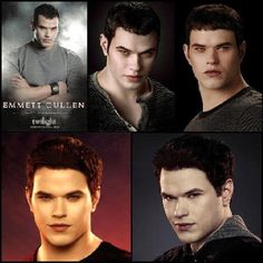 30 Days Of Forever - Day 8 - Favorite Male Character - Emmet Cullen, because he is so funny.