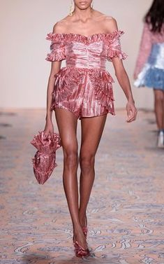 Wasn't Born To Follow Playsuit by Alice McCall Fall Winter 2018