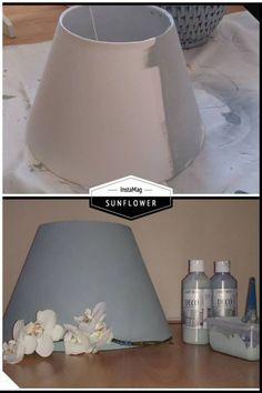 Je oude kapjes niet leuk meer, of kan je de juiste kleur niet vinden?? schilder ze in de kleur die zelf wilt met decoratie verf.