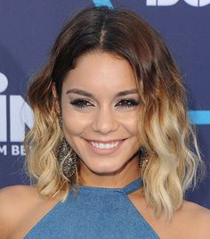 A Must-Try, Super Modern Way To Wear Blue Eyeliner like Vanessa Hudgens| Makeup tips by Achelle Dunaway