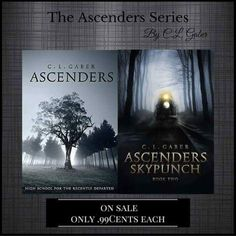 Get The Ones That Started It All! BONUS: An Excerpt From Book#3  #TheAscendersSaga CL Gaber Excerpt From Book #3  In Ascenders: Omorrow (Book 3) coming out in Spring 2017 Walker Daniel and several others return to different time periods in the past to find something thats a game changer for both the living and the dead.Book #1 And Book #2 Only 0.99 Cents & Free on Kindle Unlimited Universal Links:  Ascenders #1: myBook.to/Ascenders Ascenders #2 : myBook.to/Ascenders2  Follow CL Gaber…