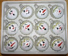 Snowman Ornament Faces, Snowmen & Frosty Friends Craft