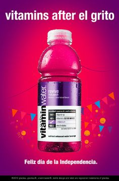 vitamin water 4 p s marketing The case highlights the marketing strategies of us-based energy brands inc,  maker of the glaceau range of enhanced water products glaceaus vitaminwater .