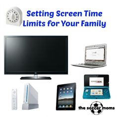 Setting Screen Time Limits for Your Family - The Soccer Moms