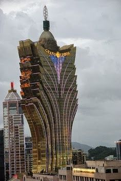 Amazing Snaps: Grand Lisboa - Macau, China