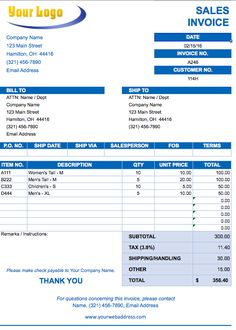 Free Invoice Templetes Blank Tax Invoice Template Free  Invoice Templates  Pinterest