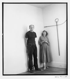 Jackson Pollock and Lee Krasner. I would have loved to be the fly on the wall.
