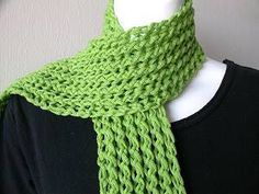 Knitting Patterns For Beginners: Easy Scarf