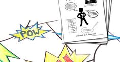 Such a fun and simple project - Printable DIY Comic book pack http://ift.tt/1H27y8J