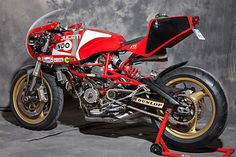 "Racing Cafè: Ducati Pantah TL 600 1983 ""Bol D'Or"" 2015 by XTR PEPO"