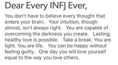 43 Ideas for quotes love thoughts infj Infj Traits, Infj Mbti, Enfj, Infj Personality, Myers Briggs Personality Types, Infj Type, Life Quotes, Soul Quotes, Faith Quotes