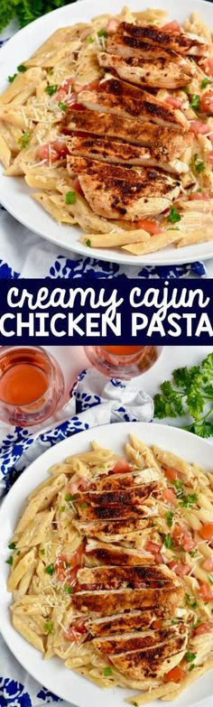 Creamy Cajun Chicken Pasta Recipe | Wine & Glue