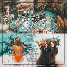 "Filtro/filter VSCO ""Teal & Orange"" (Ig: anniesthetic__) News Photography Filters, Photography Editing, Photography Hacks, Photography Tutorials, Creative Photography, Digital Photography, Portrait Photography, Vsco Pictures, Editing Pictures"