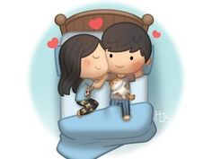 sweet dreams ❤️ Miss you and love you ❤️🤗😘 Cartoon Love Quotes, Cute Love Cartoons, Cute Couple Comics, Cute Couple Art, Sheila E, Anime Couples Sleeping, Good Night Sweetheart, Valentines Day History, Hj Story