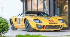 Looking for the Ford GT 40 of your dreams? There are currently 15 Ford GT 40 cars as well as thousands of other iconic classic and collectors cars for sale on Classic Driver. Ford Gt40, Ford Mustang, Ford Shelby, Road Race Car, Race Cars, Ford Motor Company, Le Mans, Motogp, Formula 1