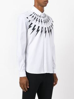 Neil Barrett lightning bolt shirt