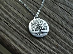 Bohemian Tree Necklace from PiperBlue on Etsy.