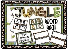 Jungle Safari Classroom Theme