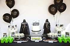 festa infantil star wars - aprenda como decorar!