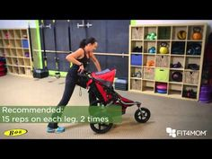 Friday Fitness with Farel: Peekaboo Lunges and Plank Toe Tickles! - FIT4MOM