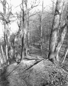 Mound Builders: Rare Photo of an Ancient Indian Portage Trail in South Bend, Indiana