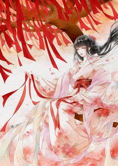 Illustration Looks like Jigoku Shoujo