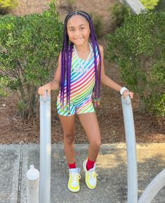 Why Fit In When You Where Born To STAND OUT?!?! #BeYOUtiful 🌈 ❤️🧡💛💚💙#SWIPE . . . Outfit Inspo: @colormecourtney @colormemagic 🌈 ❤️🧡💛💚💙💜 .… Kid Hair, Fitness, Kids, Outfits, Style, Fashion, Young Children, Swag, Moda