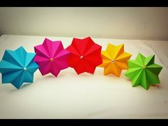 How to DIY Origami Umbrella? | The Idea King Tutorial #59 - YouTube