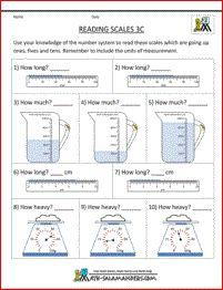 New 2012-12-17! Measurement Worksheet -- Converting Grams and ...