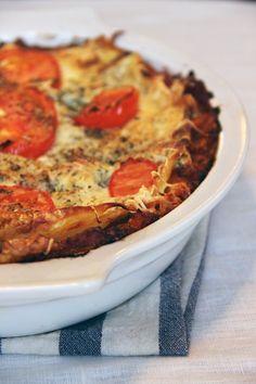 lasagnes creme basilic