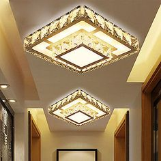 Modern 20cm Crystal 12W LED Ceiling Light Chandelier lighting Aisle Light 5512HC