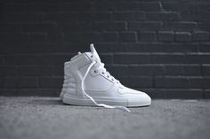 Filling Pieces High Top Transformed - White   Kith NYC