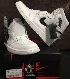 Jordan Retro 1 High OG Yin Yang Schuhe Schwarz für Herren