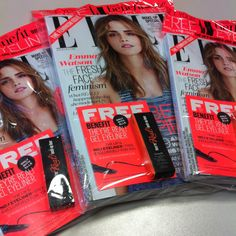 You can never have enough Elle magazines!