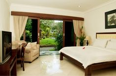 Hotel Villa Lumbung > Kerobokan > Bali Hotel and Bali Villa Superior Room, Pool Waterfall, Good House, Outdoor Furniture, Outdoor Decor, Bali, Swimming Pools, Villa, Hotels