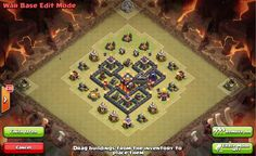 Clash of Clans Town Hall 5 War Base 6