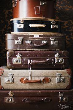 VINTAGE suitcases xx