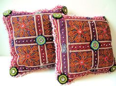 Afghanistan Tribal Hand Embroidery by oldsilkroute on Etsy