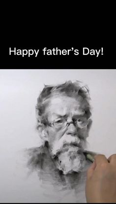 Charcoal Paint, Charcoal Drawing, Father Tattoos, Custom Pencils, Charcoal Portraits, Drawing Studies, Portrait Photography Poses, Father's Day Diy, Face Expressions
