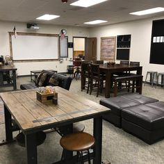 Tons of furniture and 3 days of constant rearranging to make it right. Classroom Layout, Classroom Design, Classroom Themes, Classroom Organization, Middle School Classroom, New Classroom, Classroom Furniture, Office Furniture, Diy Classroom Decorations