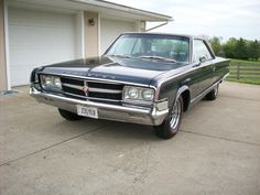 """1965 Chrysler 300L , 413 Wedge, last of the Chrysler """"Letter Cars"""" . At one time the fastest cars in the USA. $24,500. Raced one in 1966, won."""