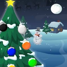 Welcome to another great #kids #game called #ChristmasTree #Decor. Your #mission will be to prove some #decorating #skills and for that, you will need to give life and color to the #Christmas #tree. #Play and enjoy!