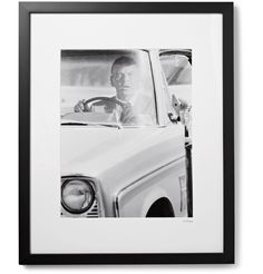 Candid photography is Mr Terry O'Neill's forte - this shot of Mr Frank Sinatra was taken on the set of the 1968 detective film <i>Lady in Cement</i>. Printed on top-quality Fuji Crystal Archive Paper, it's professionally hand-mounted by <a href='http://www.mrporter.com/mens/Designers/Sonic_Editions'>Sonic Editions</a> and individually numbered as part of a limited 200-copy run.