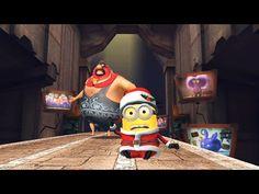 Despicable Me 2 - Minion Rush : Santa Minion Vs Vector ! Free Games - YouTube