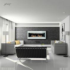 Cheminée design bio-éthanol Glamm Fire www.atryhome.com