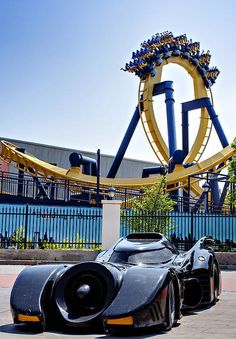 "Batman the Ride ""Six Flags over Texas"" it was so fun I blacked out for 5 seconds though"