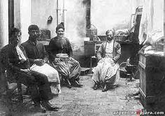 Argentina. Inmigrantes turcos en Buenos Aires, 1902.