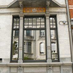 Bruxelles art nouveau (Belgique), Ixelles (Benjamin de Lestré architecte)