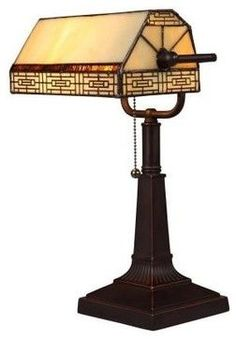Bronze And Mica Accent Piano Lamp By Dale Tiffany Piano